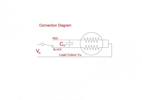 AC Synchronous Geared Motors  110V 60Hz 1rpm 8.1 Nm