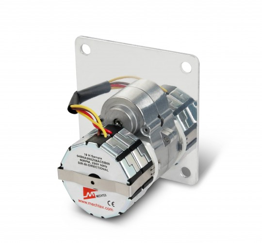AC Synchronous Geared Motors  230 VAC 50Hz 60rpm 0.3 Nm