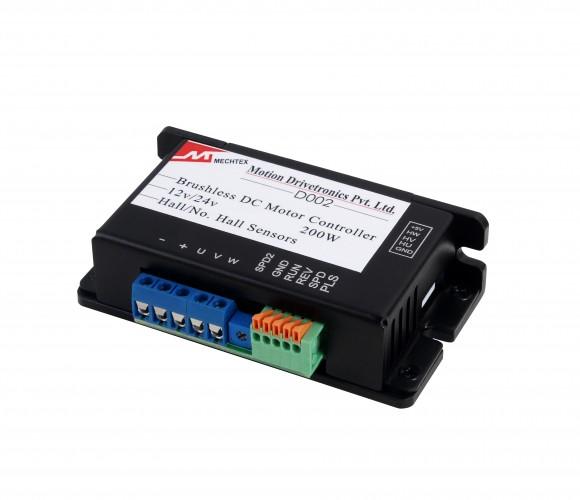 BLDC Motor Controller Operating Voltage- 8-28VDC (Cut-Off Current 1A -D002-1A)